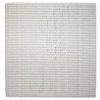 SYNTHETIC RATTAN  0.60 X 0.60M. WHITE