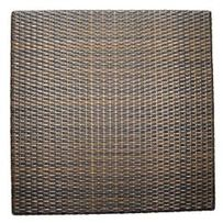 SYNTHETIC RATTAN  0.80 X 0.80M.